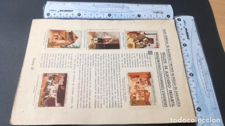 Coleccionismo Álbum: 2 ARAGON TIPOS COSTUMBRES VIVENCIASSELLOS AHORRO INFANTIL CAJA AHORROS ZARAGOZA COMPLETO SELLADOC - Foto 4 - 195325805