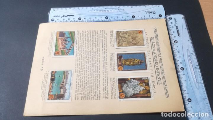 Coleccionismo Álbum: 15 VIRGEN PILAR TEMPLOSELLOS AHORRO INFANTIL CAJA AHORROS ZARAGOZA COMPLETO SELLADOCP B-1 - Foto 4 - 195325875