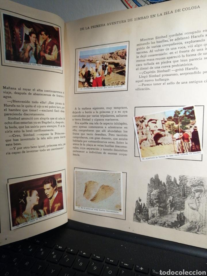 Coleccionismo Álbum: Album de cromos Completo SIMBAD Y LA PRINCESA CHOCOLATES JUNCOSA - Foto 3 - 195327832