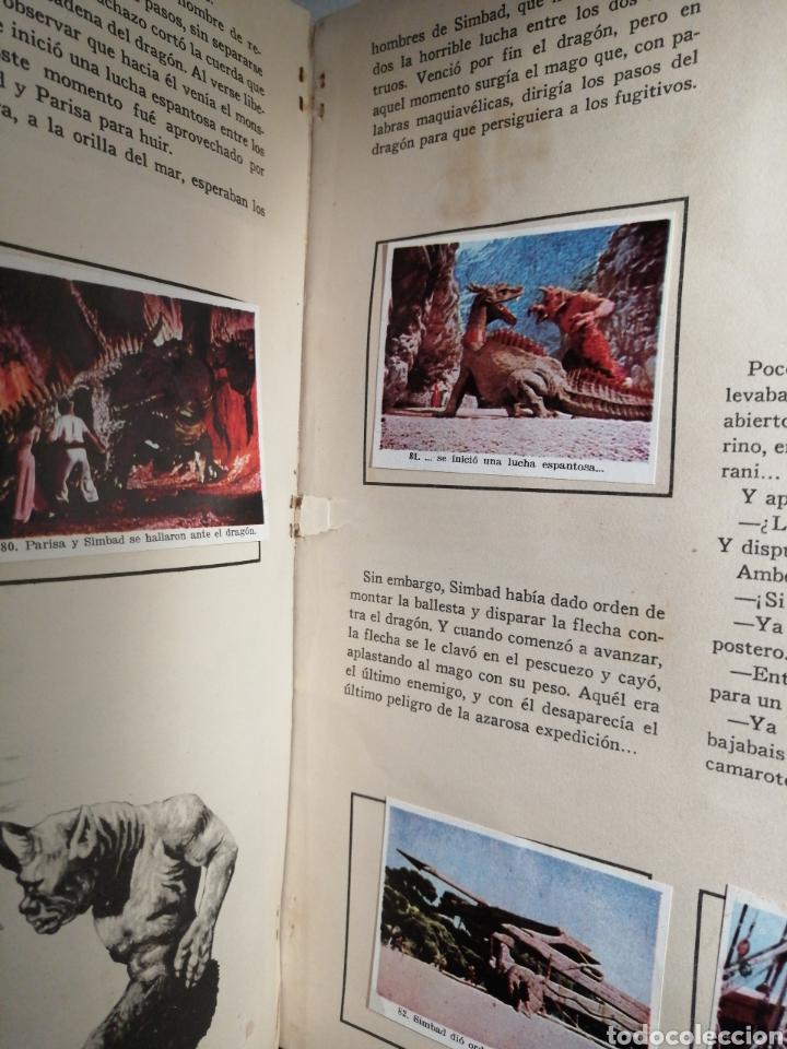 Coleccionismo Álbum: Album de cromos Completo SIMBAD Y LA PRINCESA CHOCOLATES JUNCOSA - Foto 5 - 195327832