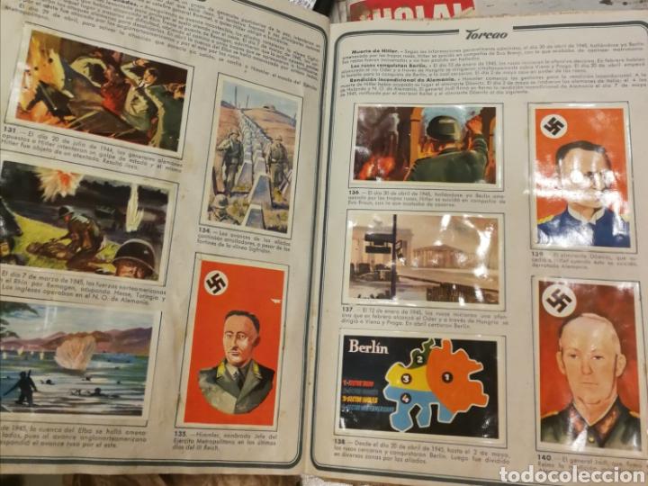 Coleccionismo Álbum: Álbum completo Segunda Guerra Mundial - Foto 2 - 195337356