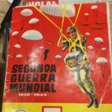 Coleccionismo Álbum: ÁLBUM COMPLETO SEGUNDA GUERRA MUNDIAL. Lote 195337356