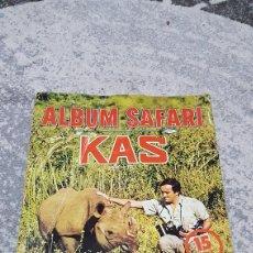 Coleccionismo Álbum: ALBUM SAFARI KAS FELIX RODRÍGUEZ DE LA FUENTE. Lote 195338425