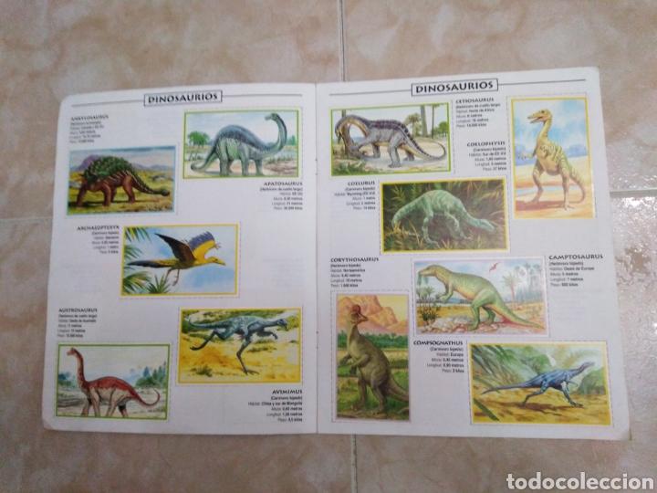 Coleccionismo Álbum: Álbum de dinosaurios completo - Foto 3 - 195338655