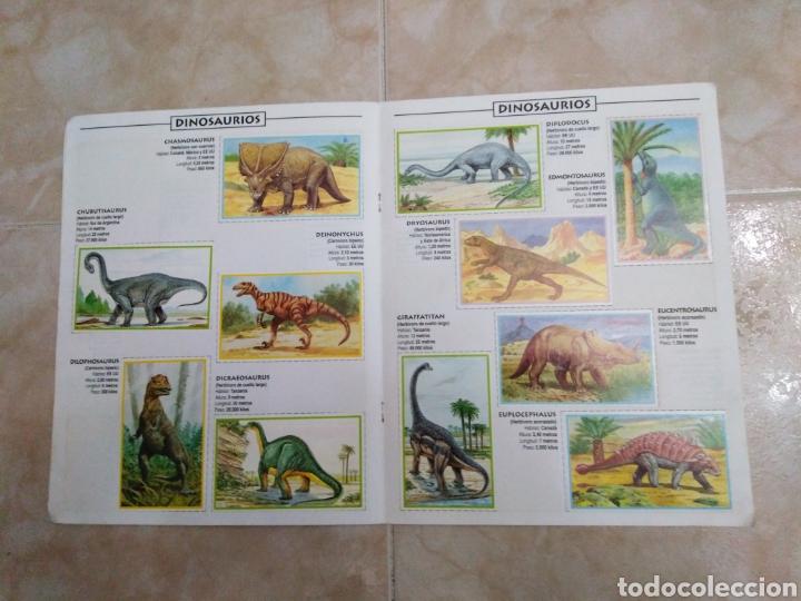 Coleccionismo Álbum: Álbum de dinosaurios completo - Foto 4 - 195338655