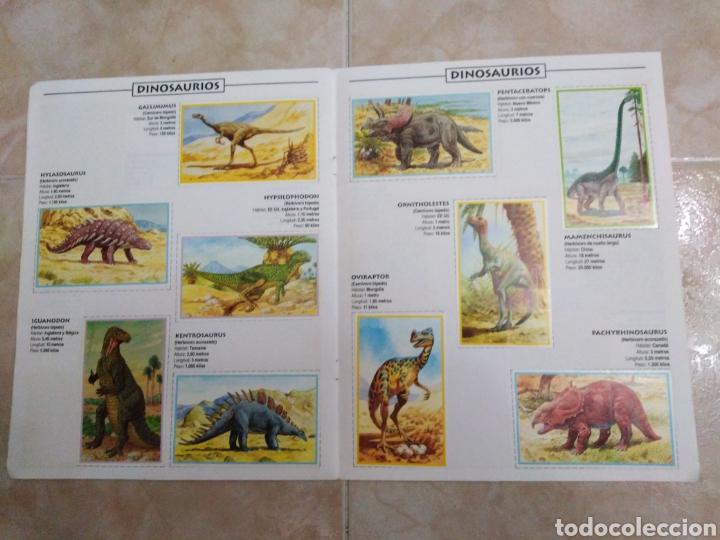 Coleccionismo Álbum: Álbum de dinosaurios completo - Foto 5 - 195338655