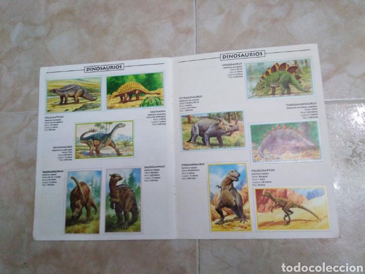 Coleccionismo Álbum: Álbum de dinosaurios completo - Foto 6 - 195338655