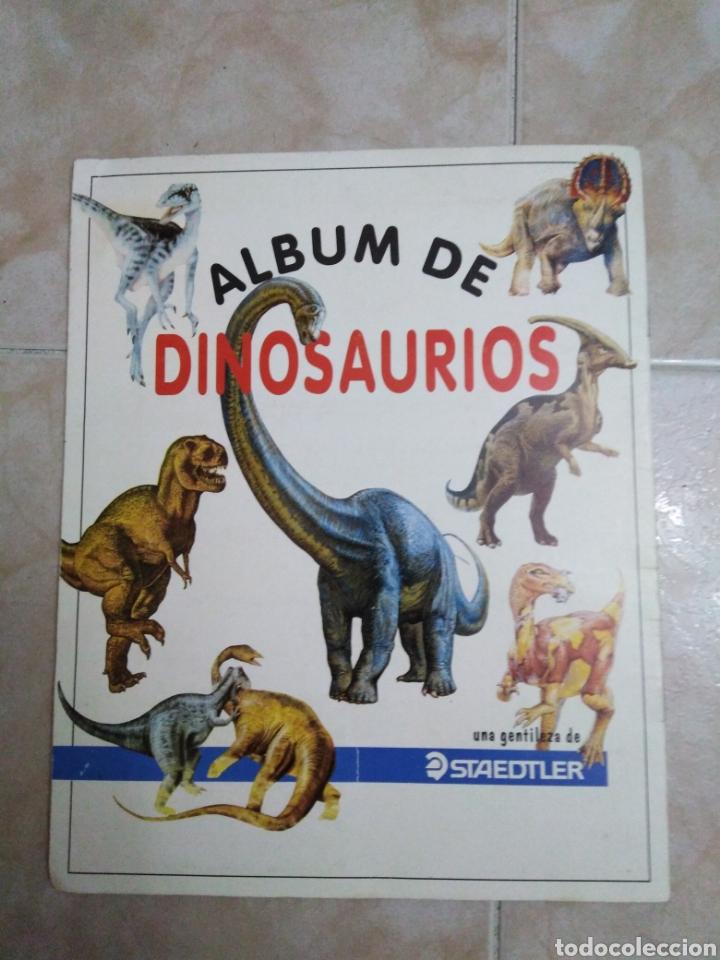 Coleccionismo Álbum: Álbum de dinosaurios completo - Foto 7 - 195338655