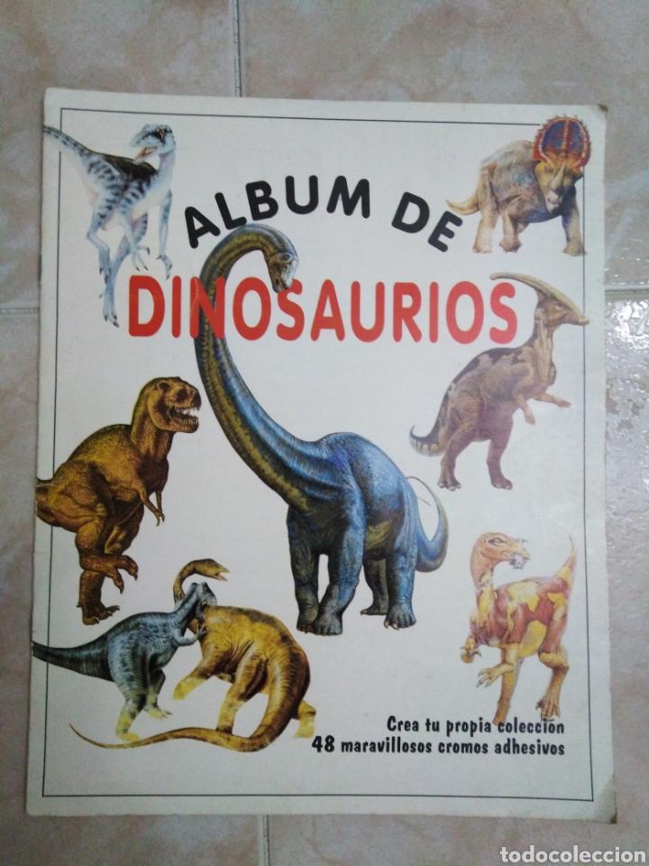 ÁLBUM DE DINOSAURIOS COMPLETO (Coleccionismo - Cromos y Álbumes - Álbumes Completos)