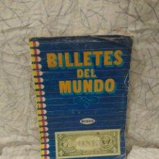Coleccionismo Álbum: BILLETES DEL MUNDO. Lote 195354002