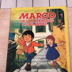 Coleccionismo Álbum: MARCO DE LOS APENINOS A LOS ANDES. Lote 195355592