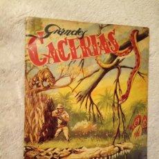 Coleccionismo Álbum: ALBUM GRANDES CACERIAS FERMA COMPLETO DIBUJOS DE BEAUMONT. Lote 195375238