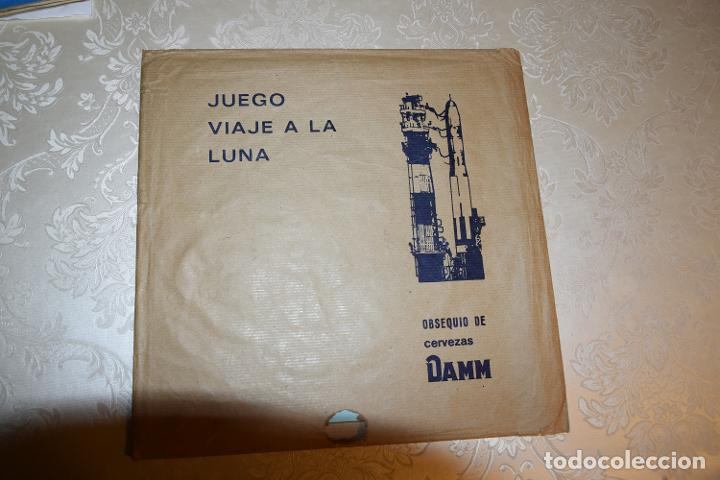 Coleccionismo Álbum: JUEGO VIAJE A LA LUNA DAMM COMPLETO+ÁLBUM COMPLETO HOMENAJE A LA CONQUISTA DEL ESPACIO (VER IMÁGENES - Foto 3 - 195376260
