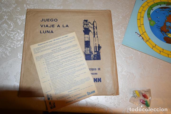 Coleccionismo Álbum: JUEGO VIAJE A LA LUNA DAMM COMPLETO+ÁLBUM COMPLETO HOMENAJE A LA CONQUISTA DEL ESPACIO (VER IMÁGENES - Foto 5 - 195376260