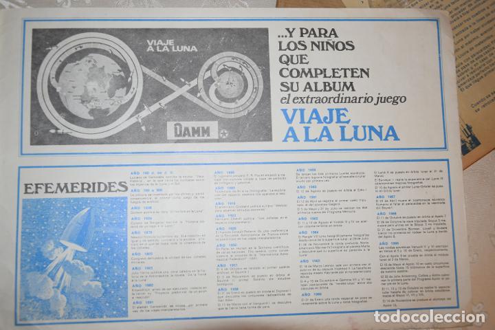 Coleccionismo Álbum: JUEGO VIAJE A LA LUNA DAMM COMPLETO+ÁLBUM COMPLETO HOMENAJE A LA CONQUISTA DEL ESPACIO (VER IMÁGENES - Foto 12 - 195376260
