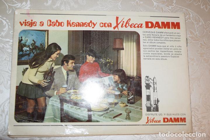 Coleccionismo Álbum: JUEGO VIAJE A LA LUNA DAMM COMPLETO+ÁLBUM COMPLETO HOMENAJE A LA CONQUISTA DEL ESPACIO (VER IMÁGENES - Foto 13 - 195376260