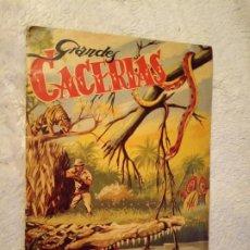 Coleccionismo Álbum: ALBUM GRANDES CACERIAS FERMA CASI COMPLETO FALTA SOLO UN CROMO DIBUJOS DE BEAUMONT. Lote 195376385