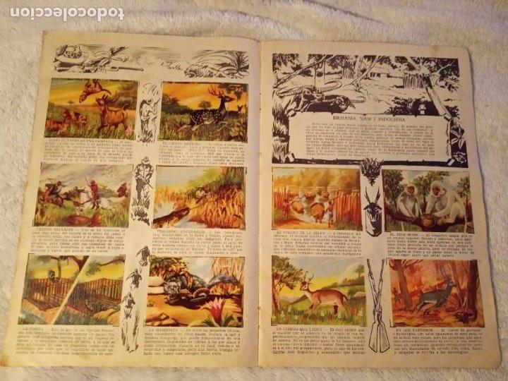 Coleccionismo Álbum: ALBUM GRANDES CACERIAS FERMA CASI COMPLETO FALTAN SOLO TRES CROMOS DIBUJOS DE BEAUMONT - Foto 4 - 195376385