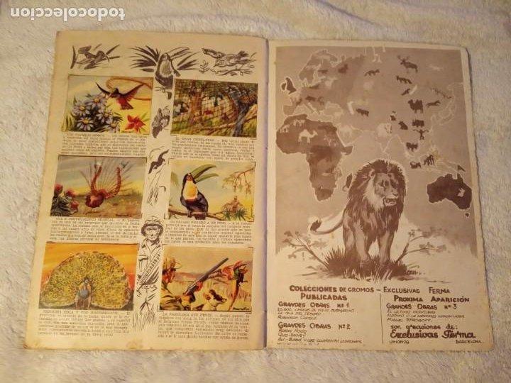 Coleccionismo Álbum: ALBUM GRANDES CACERIAS FERMA CASI COMPLETO FALTAN SOLO TRES CROMOS DIBUJOS DE BEAUMONT - Foto 6 - 195376385