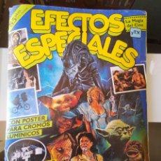 Coleccionismo Álbum: ÁLBUM CROMOS EFECTOS ESPECIALES ED. ASTON COMPLETO CON PÓSTER MBE. Lote 195387428