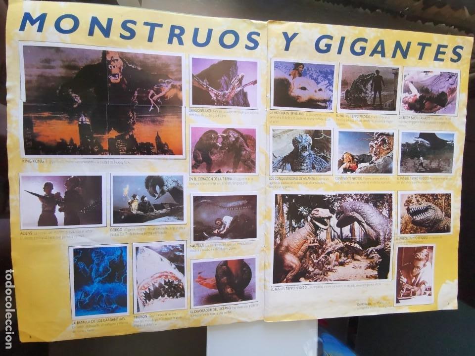 Coleccionismo Álbum: ÁLBUM CROMOS EFECTOS ESPECIALES ED. ASTON COMPLETO CON PÓSTER MBE - Foto 3 - 195387428