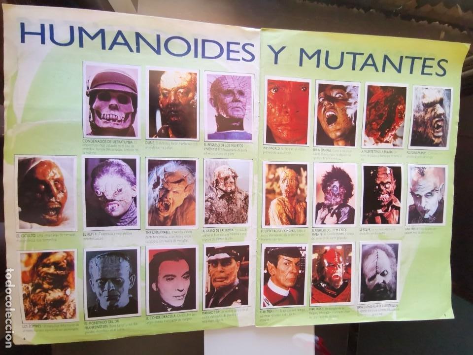 Coleccionismo Álbum: ÁLBUM CROMOS EFECTOS ESPECIALES ED. ASTON COMPLETO CON PÓSTER MBE - Foto 4 - 195387428