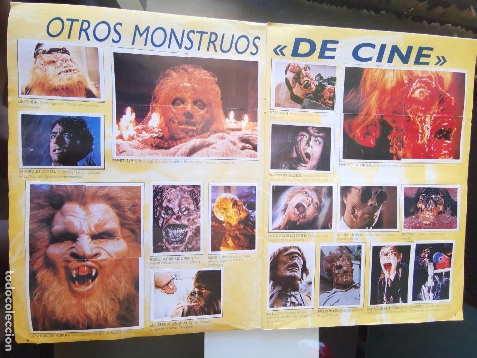 Coleccionismo Álbum: ÁLBUM CROMOS EFECTOS ESPECIALES ED. ASTON COMPLETO CON PÓSTER MBE - Foto 5 - 195387428