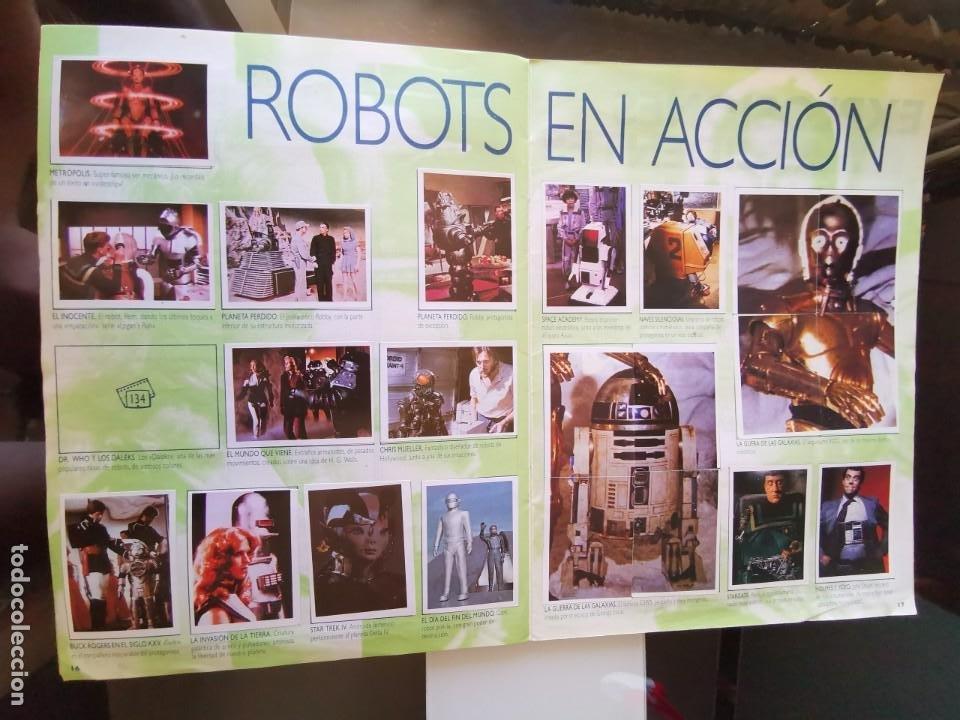 Coleccionismo Álbum: ÁLBUM CROMOS EFECTOS ESPECIALES ED. ASTON COMPLETO CON PÓSTER MBE - Foto 10 - 195387428