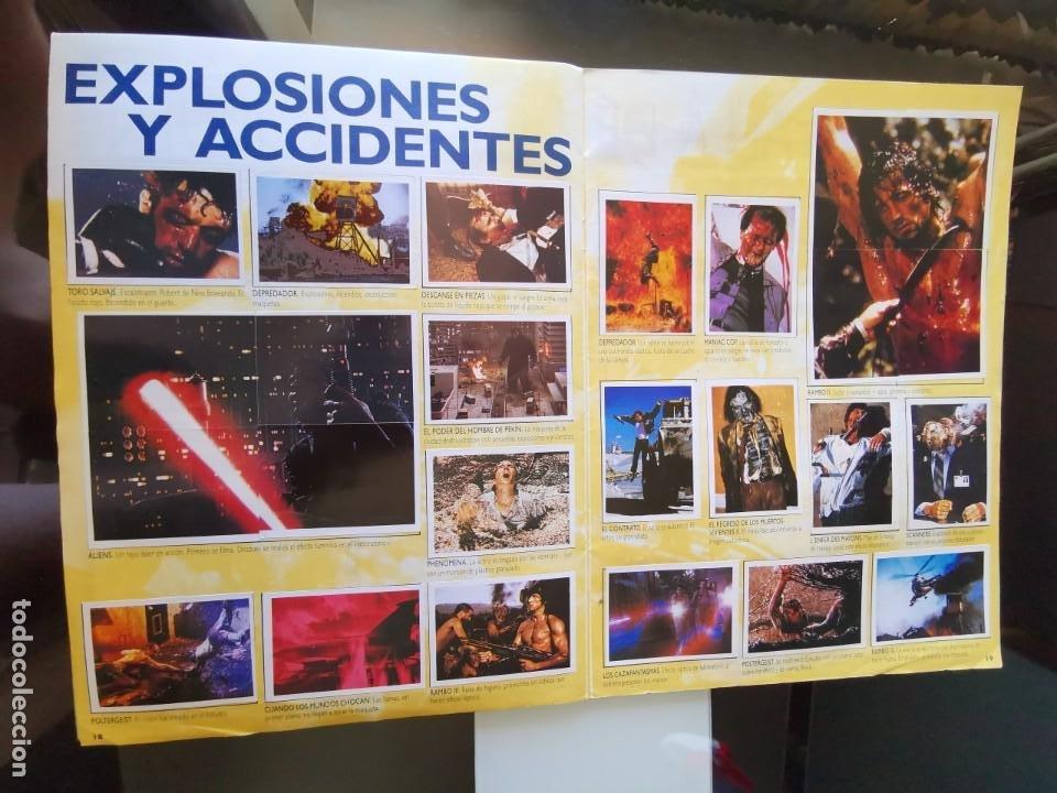 Coleccionismo Álbum: ÁLBUM CROMOS EFECTOS ESPECIALES ED. ASTON COMPLETO CON PÓSTER MBE - Foto 11 - 195387428