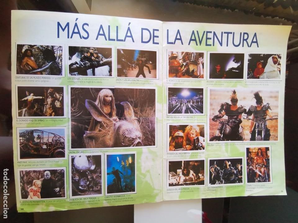 Coleccionismo Álbum: ÁLBUM CROMOS EFECTOS ESPECIALES ED. ASTON COMPLETO CON PÓSTER MBE - Foto 12 - 195387428