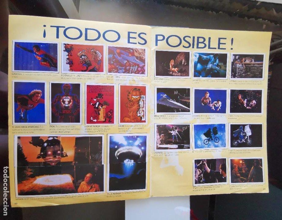 Coleccionismo Álbum: ÁLBUM CROMOS EFECTOS ESPECIALES ED. ASTON COMPLETO CON PÓSTER MBE - Foto 13 - 195387428