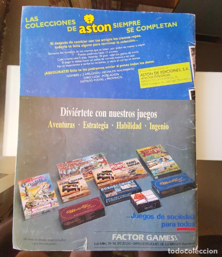 Coleccionismo Álbum: ÁLBUM CROMOS EFECTOS ESPECIALES ED. ASTON COMPLETO CON PÓSTER MBE - Foto 15 - 195387428