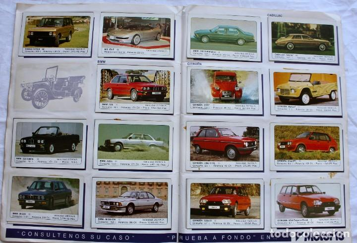Coleccionismo Álbum: ALBUM CROMOS COCHES MOTOR 16 EDICIONES UNIDAS COMPLETO - Foto 4 - 195391428