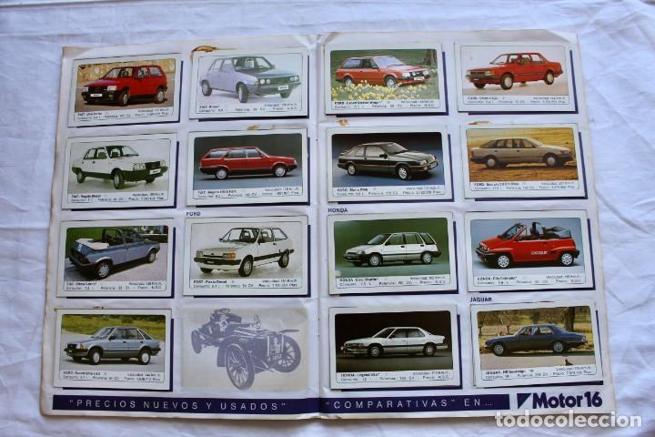 Coleccionismo Álbum: ALBUM CROMOS COCHES MOTOR 16 EDICIONES UNIDAS COMPLETO - Foto 6 - 195391428