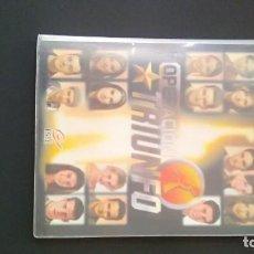 Coleccionismo Álbum: ALBUM OPERACION TRIUNFO 1 ETAPA COMPLETO E IMPECABLE. Lote 195416837