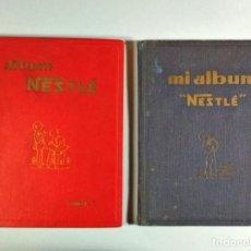 """Coleccionismo Álbum: ÁLBUMES DE CROMOS NESTLÉ TOMO I Y MI ÁLBUM """"NESTLÉ"""", COMPLETOS. DE 1930 Y 1932, RESPECTIVAMENTE.. Lote 195432591"""