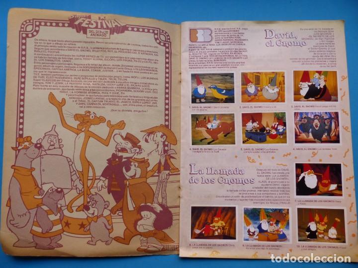 Coleccionismo Álbum: ALBUM CROMOS SUPER FESTIVAL DEL DIBUJO ANIMADO, ED. ESTE - AÑO 1988, COMPLETO PERO LEER DESCRIPCIÓN - Foto 2 - 195501981