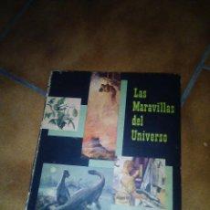 Coleccionismo Álbum: ALBUM LAS MARAVILLAS DEL UNIVERSO.COMPLETO.CHOCOLATES NESTLE 1957. Lote 195503486