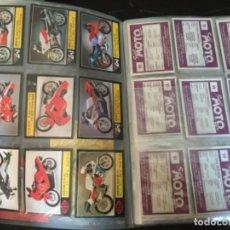 Coleccionismo Álbum: COLECCIÓN COMPLETA SIN PEGAR SÚPER MOTO -EDICIONES ESTE LOTE 46. Lote 195518492