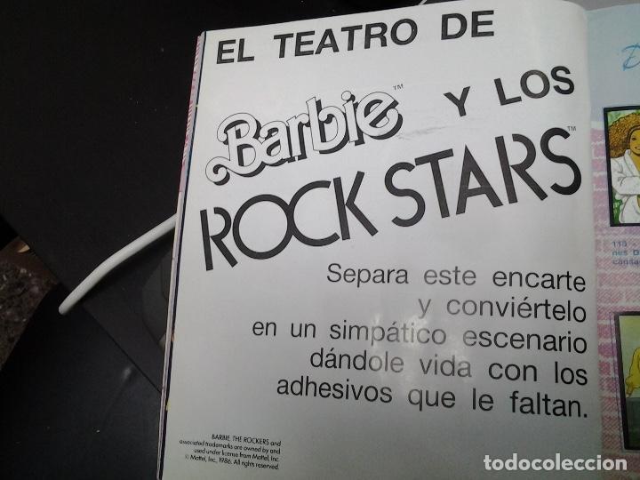 Coleccionismo Álbum: BARBIE ROCK STARS - EDITORIAL PANINI - ALBUM DE CROMOS COMPLETO - VER DESCRIPCION - Foto 7 - 87735880