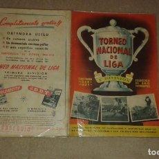 Coleccionismo Álbum: COLECCIONISTAS: ÁLBUM TORNEO NACIONAL DE LIGA 1953 1954 EDITORIAL BRUGUERA. Lote 195537337
