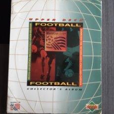 Coleccionismo Álbum: ALBUM UPPER DECK USA 94 (207 CON 8 HOLOGRAMAS SIN REPETIR). Lote 195554910