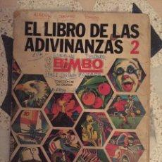 Coleccionismo Álbum: ALBUM DE CROMOS - EL LIBRO DE LAS ADIVINANZAS - BIMBO - COLECCION COMPLETA (NESTLE SUCHARD, JUNCOSA). Lote 195573828