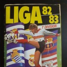 Coleccionismo Álbum: ALBUM LIGA 82-83 COMPLETO 362 CROMOS. Lote 195653136