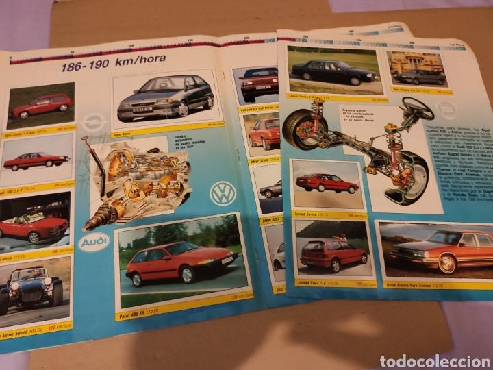 Coleccionismo Álbum: ALBUM de CROMOS AUTO DE 100 A 400 KM/HORA PANINI 360 CROMOS COMPLETO COCHES ANTIGUOS CLASICOS - Foto 4 - 195659235