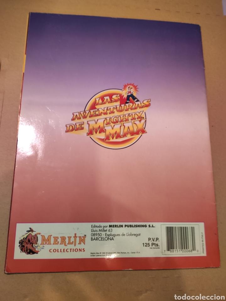 Coleccionismo Álbum: LAS AVENTURAS DE MIGHTY MAX - MERLÍN COLLECTIONS - ALBUM CROMOS STICKER COMPLETO - 1995 - Foto 2 - 195672848