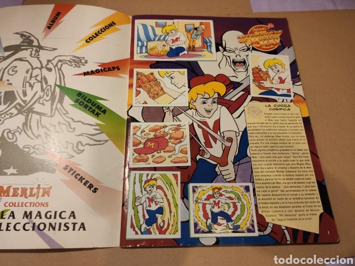 Coleccionismo Álbum: LAS AVENTURAS DE MIGHTY MAX - MERLÍN COLLECTIONS - ALBUM CROMOS STICKER COMPLETO - 1995 - Foto 3 - 195672848