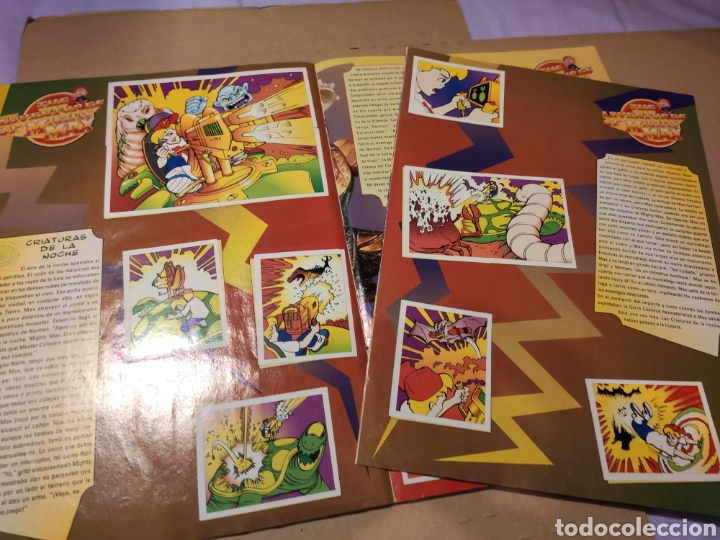 Coleccionismo Álbum: LAS AVENTURAS DE MIGHTY MAX - MERLÍN COLLECTIONS - ALBUM CROMOS STICKER COMPLETO - 1995 - Foto 5 - 195672848