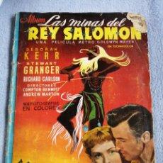 Coleccionismo Álbum: LAS MINAS DEL REY SALOMÓN COMPLETO EDICIONES CLIPER. Lote 195691466