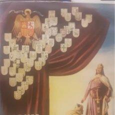 Coleccionismo Álbum: ALBUM COMPLETO HISTORIA DE ESPAÑA 1947. Lote 195770368